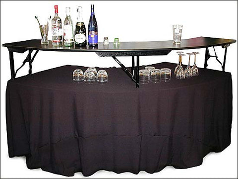 Bar Riser for Serpentine Table