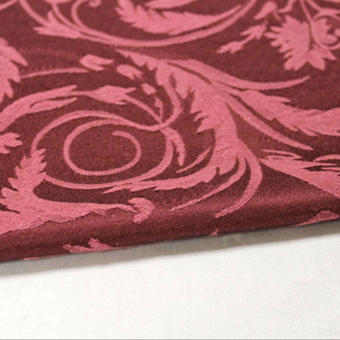 Damask Melrose Burgundy