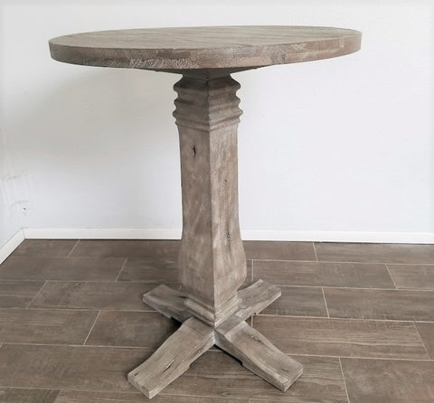 "Rustico 33"" Round Cocktail Table"