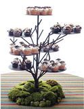 Rustic Twig Display Stand