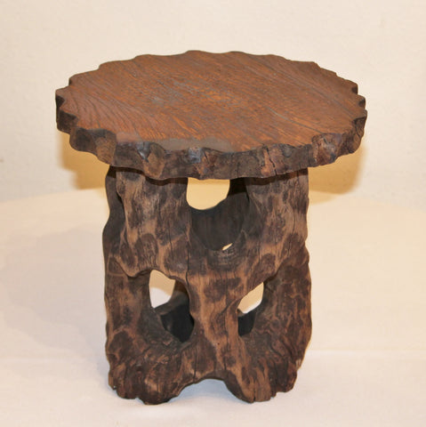 Rustic Wood Stand Medium