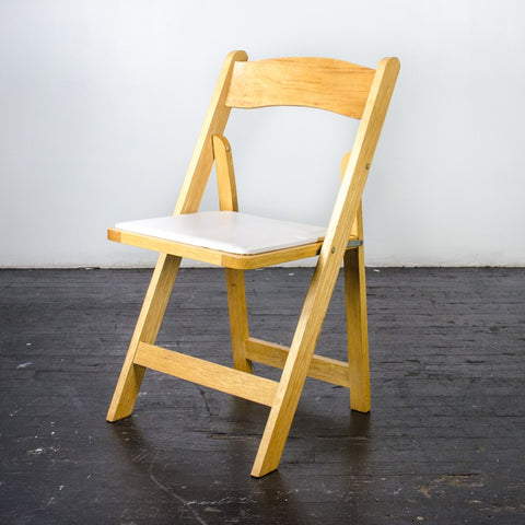 Wood Folding Chair 5 Colors