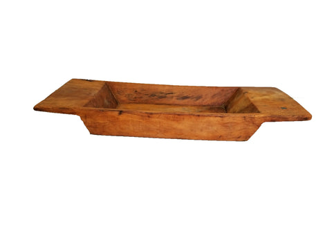 Table Top Wood Trough W/Optional Stand