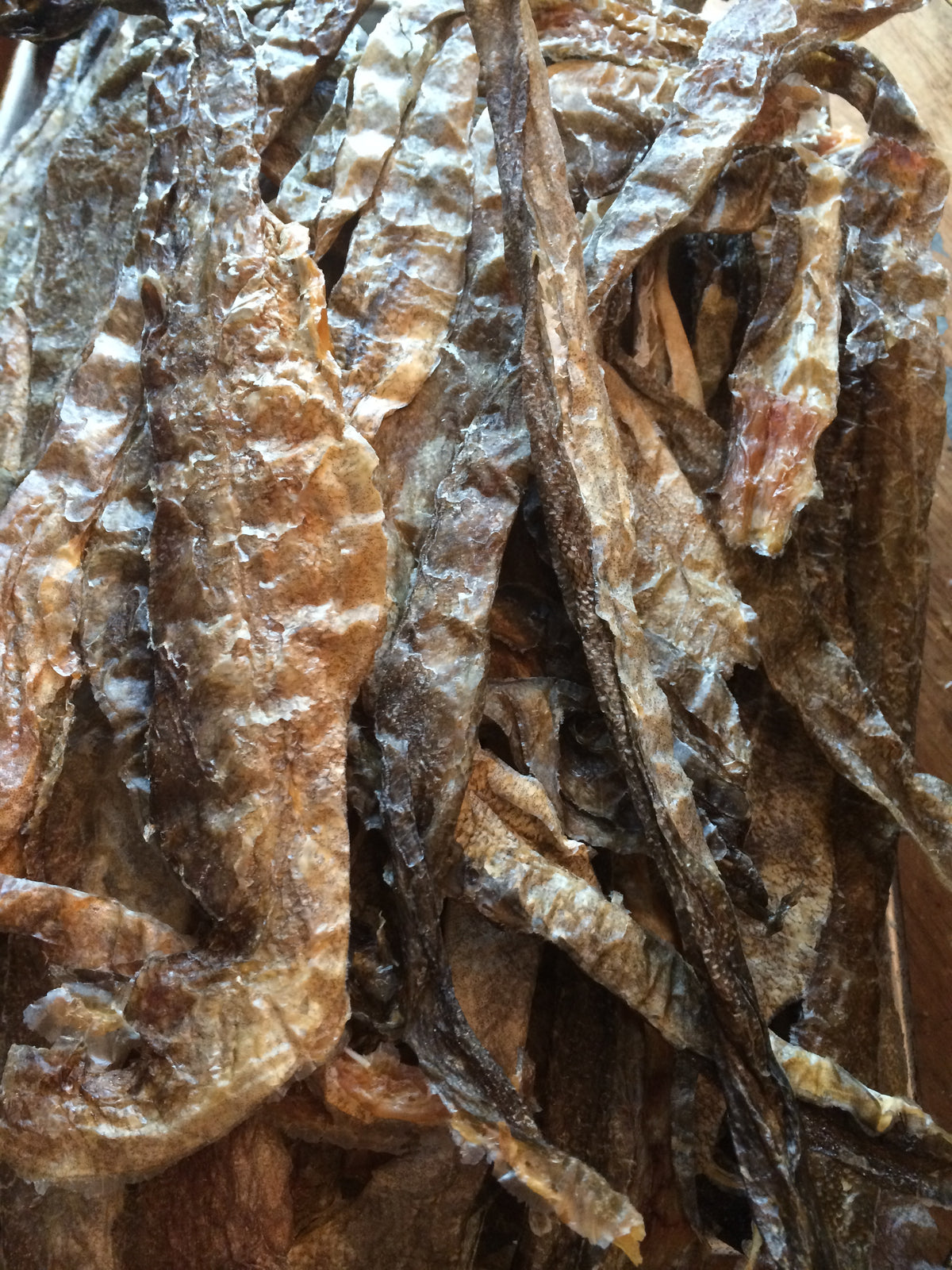 cod skins for dogs from Alaska