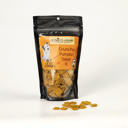 Training Treats for dogs with chicken, organic pumpkin & eggs