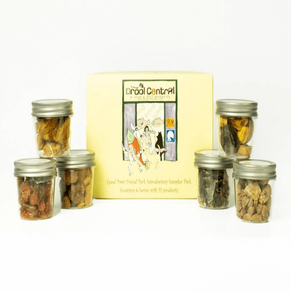 Dog Treats Introductory Sampler Pack-Good Paws Friend Pack