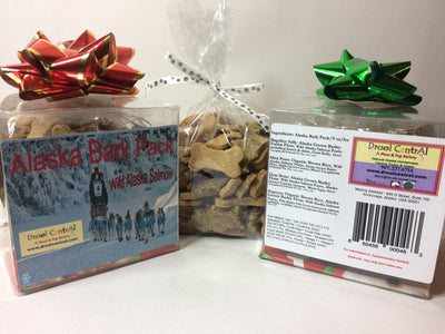 dog treats with salmon-a variety pack