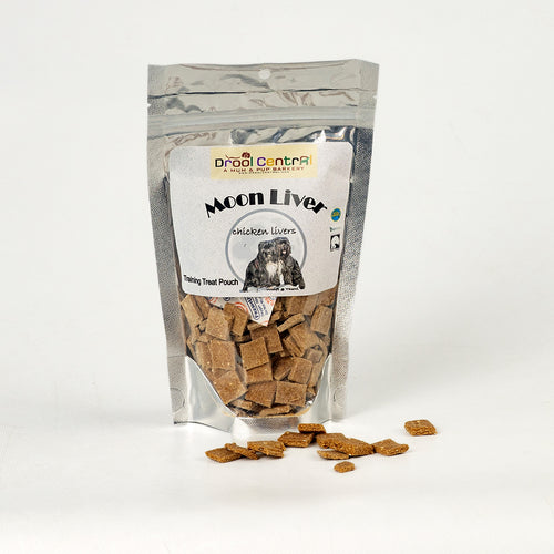 Training Treats for dogs with chicken livers.