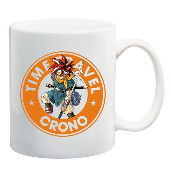 Chrono Trigger Crono Starbucks Gamer Ceramic 11oz Mug
