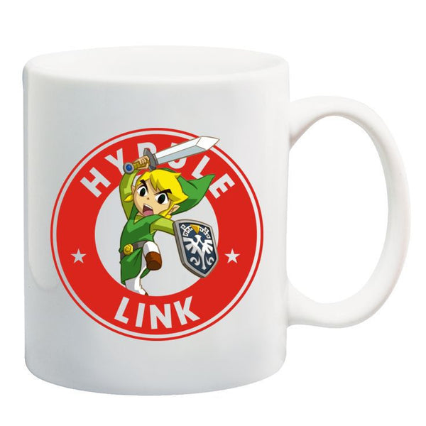 Link Legend of Zelda Starbucks Nintendo Retro Gamer Ceramic 11oz Mug
