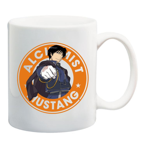 Full Metal Alchemist Roy Mustang Starbucks Anime Manga Ceramic 11oz Mug