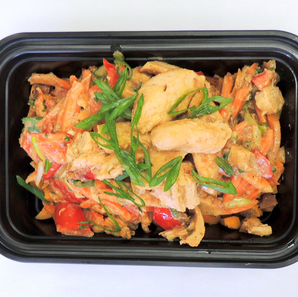 MacroNu Thai Chicken Paleo Home Delivery Meal Prep Company