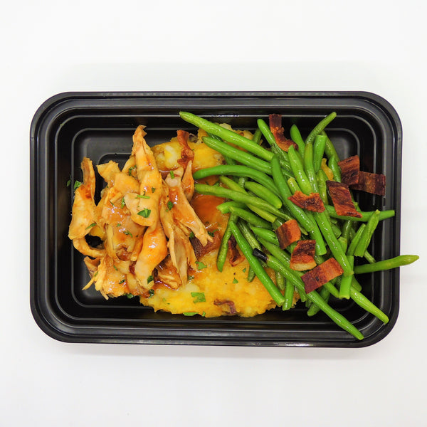MacroNu Butternut Chicken Paleo Gluten-Free Home Delivery Green Beans Squash Bacon
