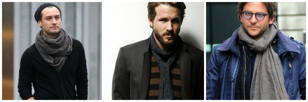 Cool Guys DO Wear Scarves: 4 Tips on How to Wear One Like a Dude