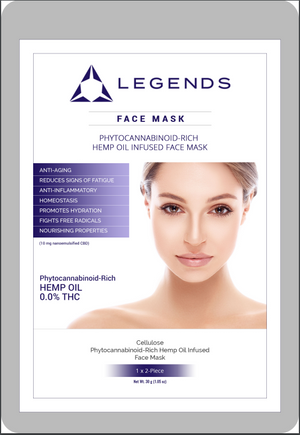Legends Korea CBD Face Mask - Wholesale