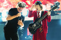 Brian Johnson and Angus Young of AC/DC Gallery Art Print