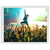 Davey Havok of AFI Gallery Art Print