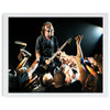 Dave Grohl of Foo Fighters with crowdGallery Art Print