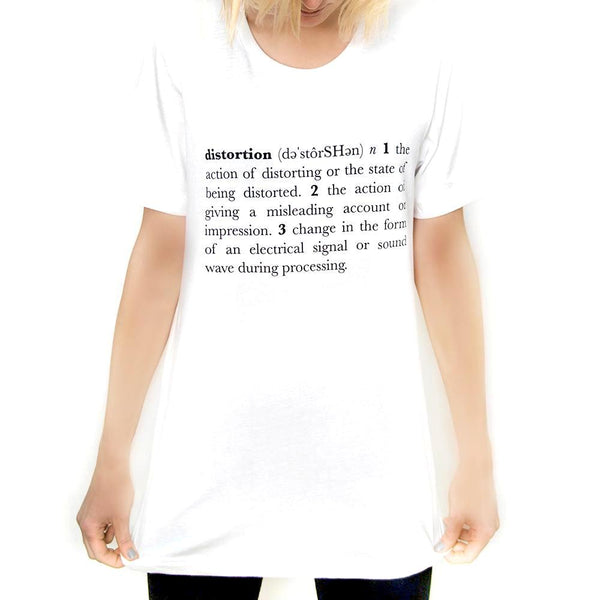 Distortion Definition Tee
