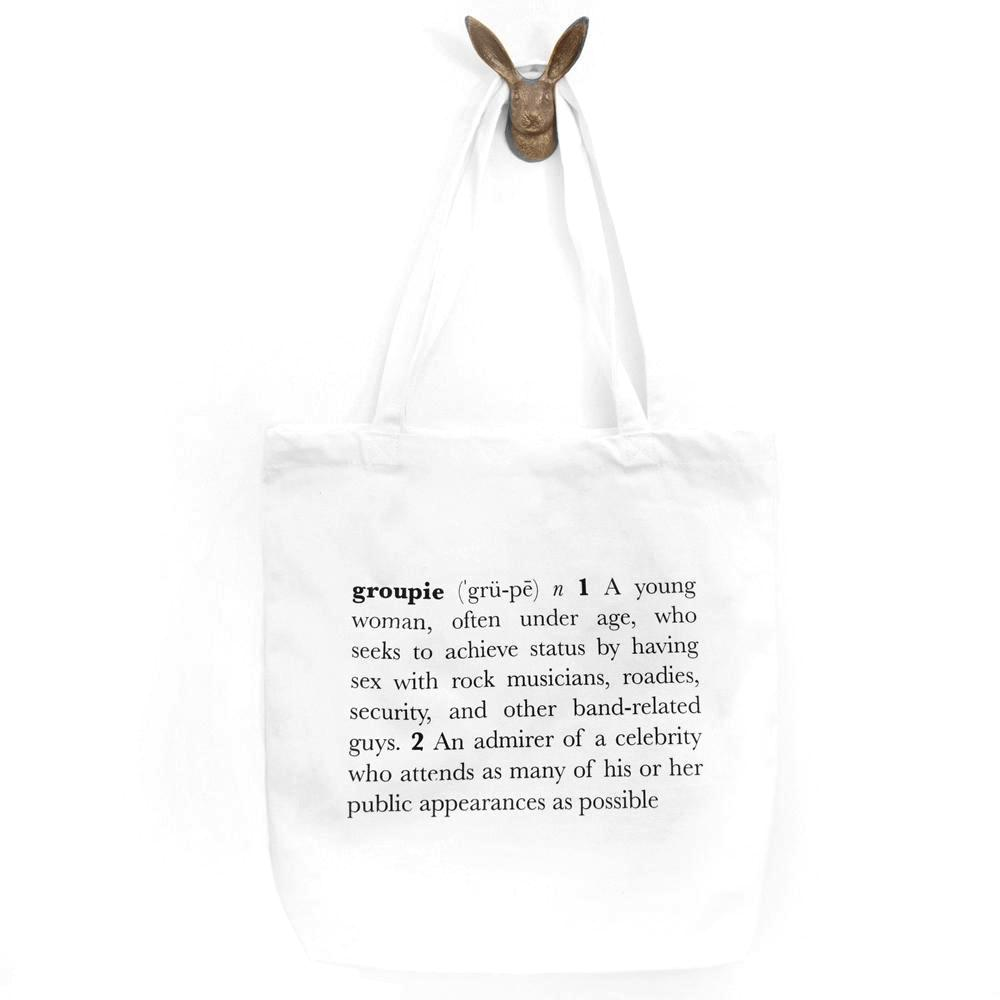 Groupie Definition Tote