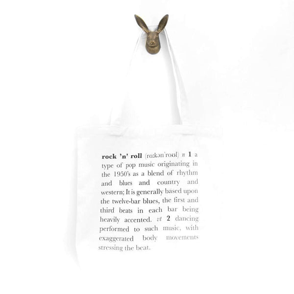 Rock and Roll Definition Tote