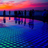 Sun Salutation light spectacle in Zadar