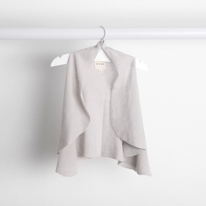 Hanging image of grey flutter gilet