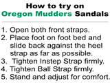 Oregon Mudders Women's WCS100 Golf Sandal