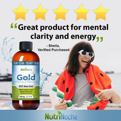 """Great Product for Mental Clarity and Energy"" 😍 Sheila, NutriNoche Gold Customer - NutriNoche"