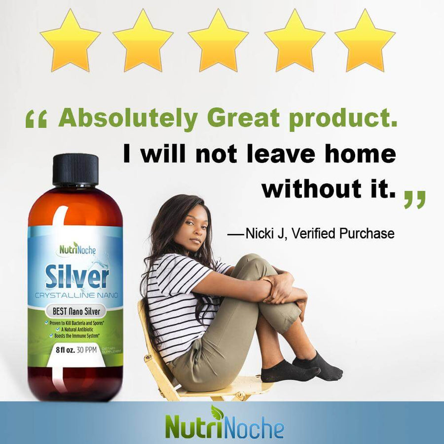 """This is a Top Shelf Product. Alleviates many Imbalances. Get Some Now!"" - 😍 David P, NutriNoche SIlver Customer"