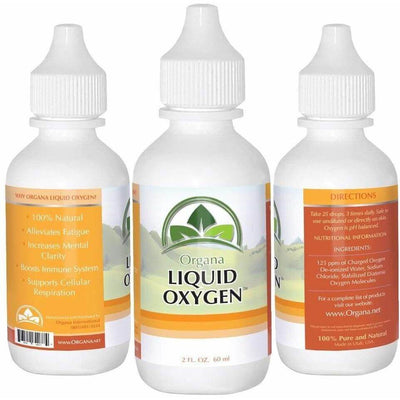 The BEST Liquid Oxygen Drops Supplement. 100% Natural, Premium & Stabilized - NutriNoche