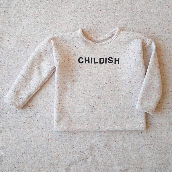 Speckled Sweatshirt