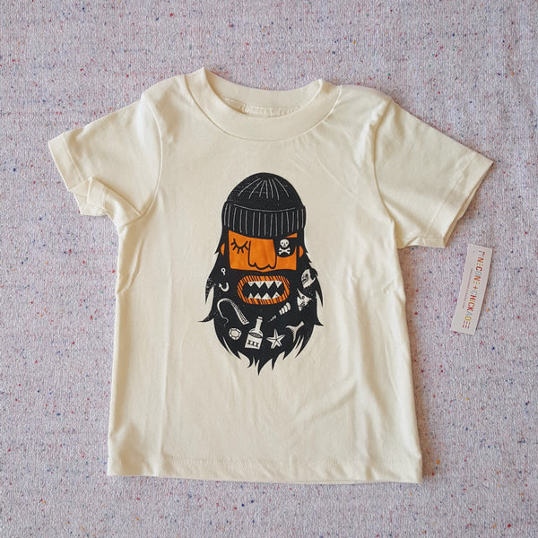 Pinecone+Chickadee Blackbeard Tee