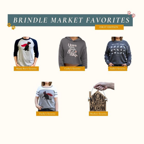 Brindle Market Favorites - 1st Edition - Animal Rescue