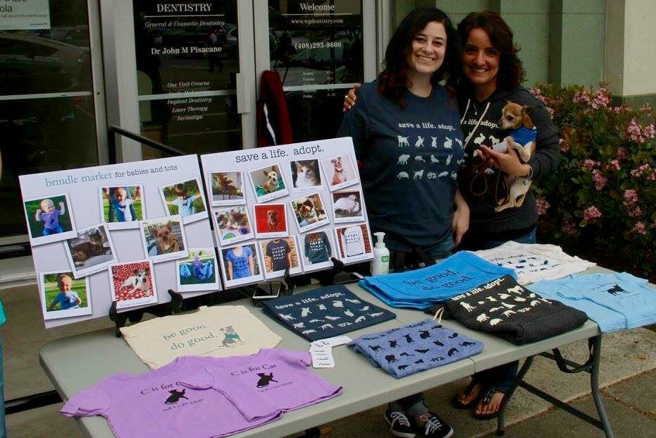 Cathy and Dawn at Brindle Market Events 2016