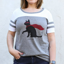 Load image into Gallery viewer, Brindle Market - Super Cat Women's Tee