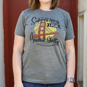 Brindle Market - Support Local Animal Shelter Tee