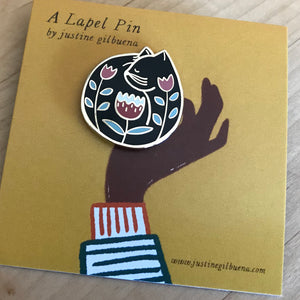 Cat Nap - Enamel Pin