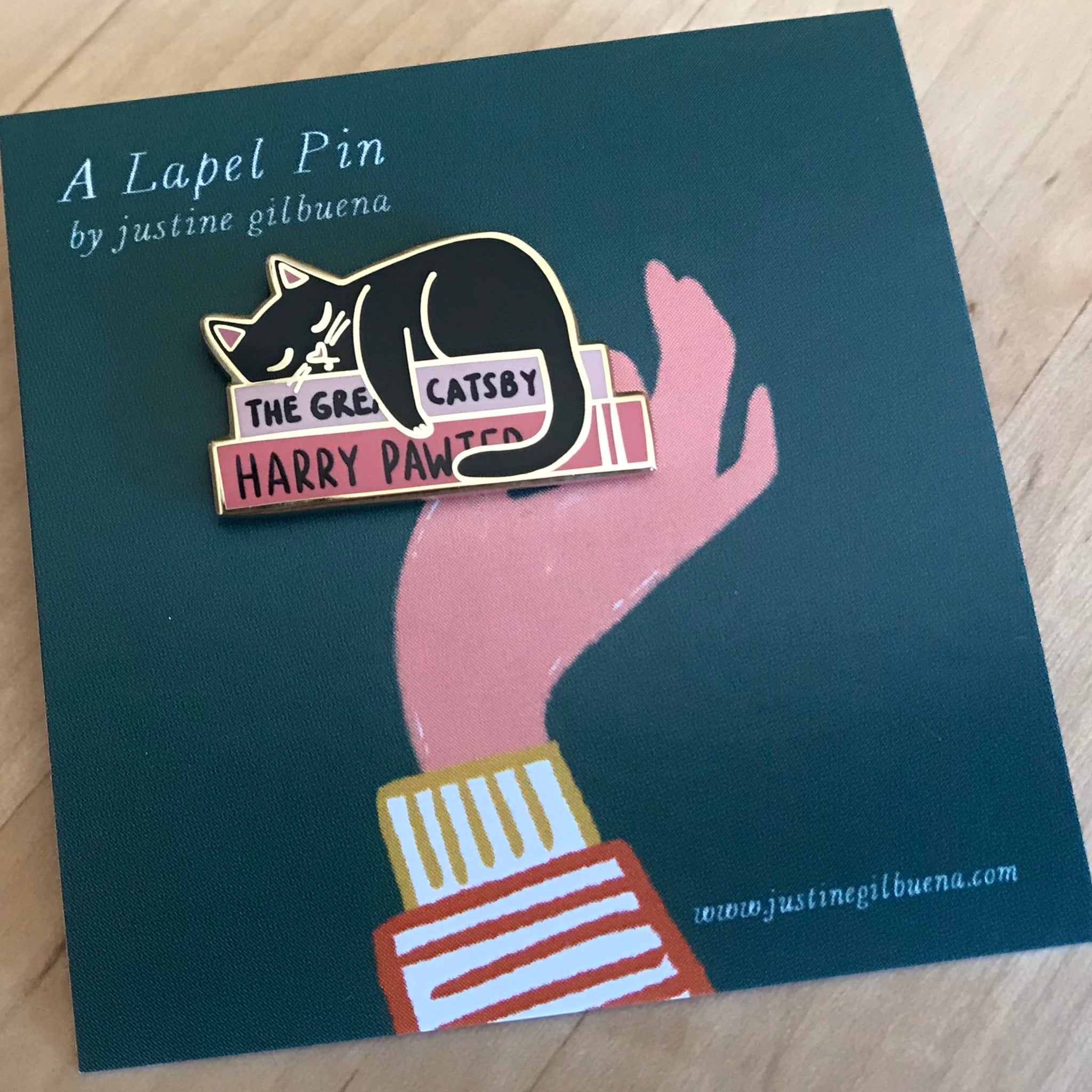 Harry Pawter - Enamel Pin