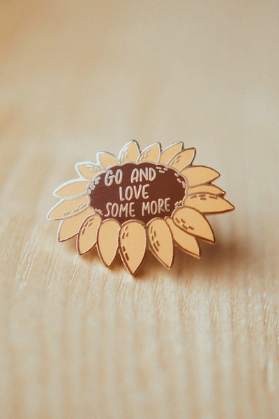 Sunflower - Enamel Pin