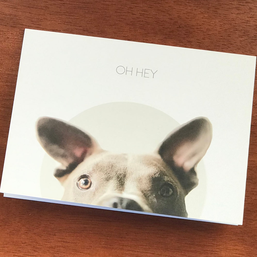 Oh Hey - Greeting Card