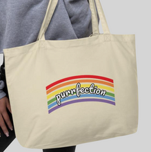 Load image into Gallery viewer, Purrfection 2020 Large Tote Bag