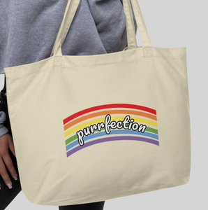 Purrfection 2020 Large Tote Bag