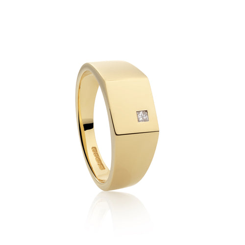 KB Signature Signet Ring