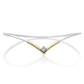 The Rise Diamond Bangle