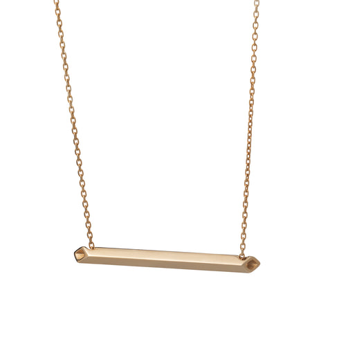 Linearity Bar Necklace