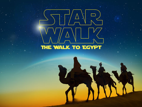 Star Walk Video Week 4 - The Walk to Egypt - The Escape of Mary, Joseph & baby Jesus
