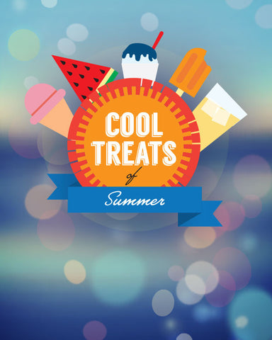 The Cool Treats of Summer - Full Lesson Elements and Art Work Only (videos sold separately)