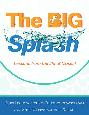 ON SALE NOW - The Big Splash - Full Lesson Elements and Art Work Only (videos sold separately)