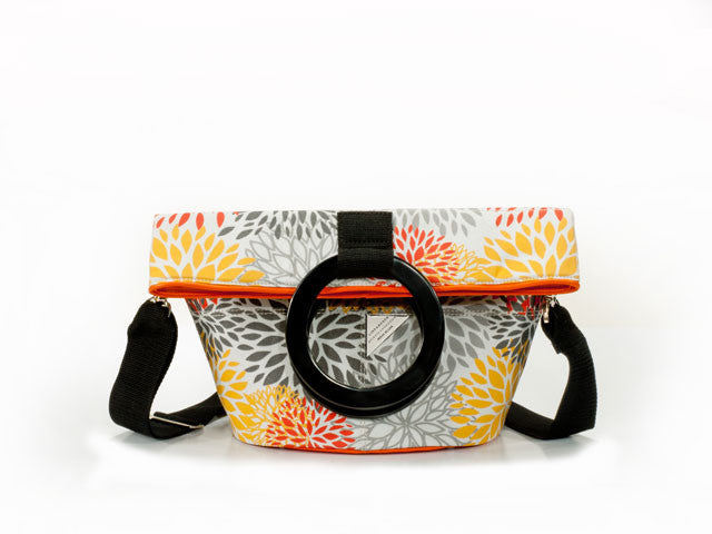 Citrus Print Bucket Bag